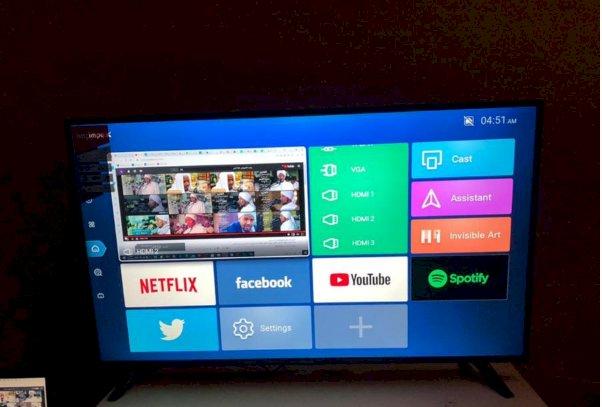 شاشات تلففزيون للبيع ماركة امبكس