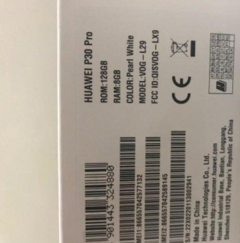 جوال هواوي P30 pro جديد بالكرتون للبيع