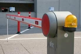 بوابات الكترونية للتحكم في دخول السيارات