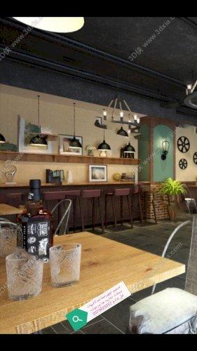 مقاول تنفيذ ديكورات محلات مطاعم كافي شوب